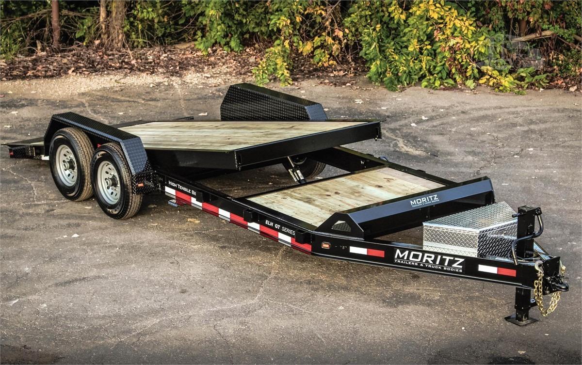 Moritz ELH GT Series Equipment Trailers with Gravity Tilt Deck
