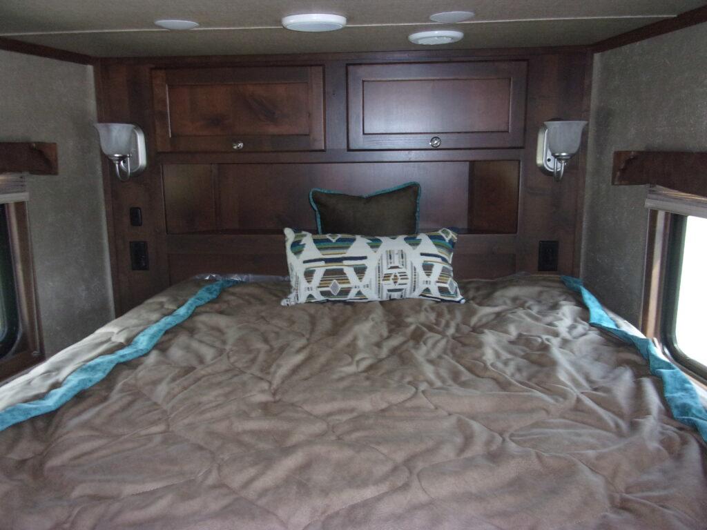 Living Quarters bed