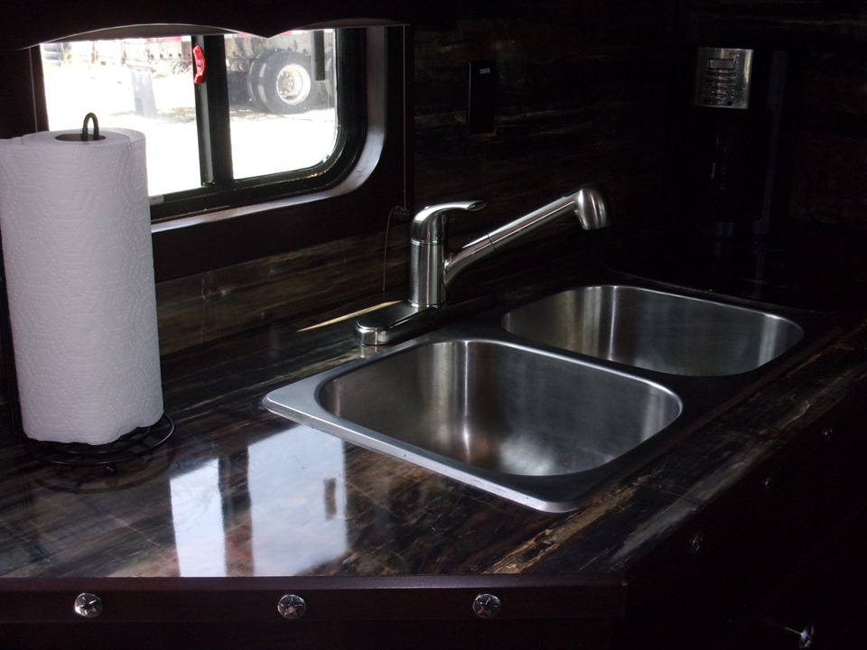 Merhow trailers sink