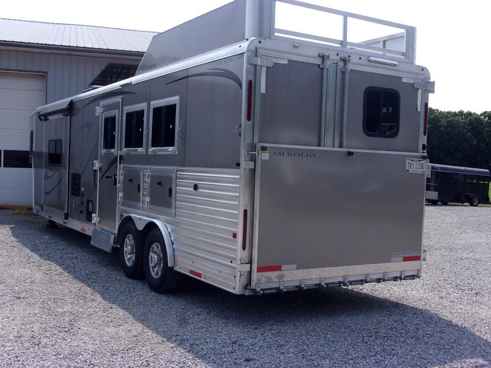 Merhow trailers rear